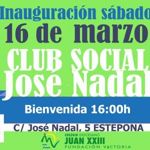NACE EL CLUB SOCIAL JOSÉ NADAL